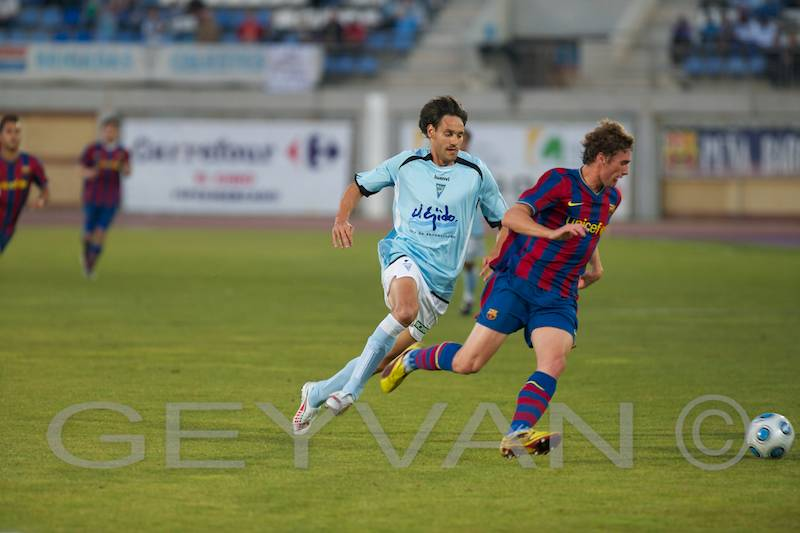 Poli Ejido vs FC Barcelona B (3-3)