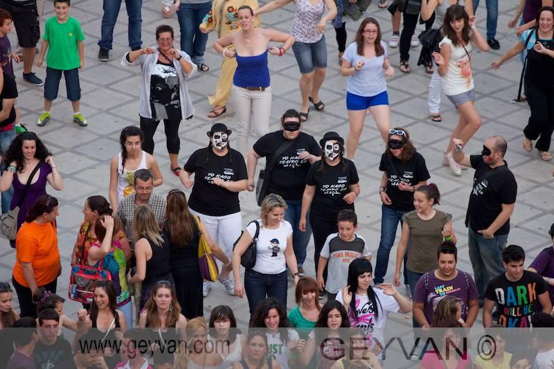 Flashmob dentro del XXXIV Festival de Teatro de El Ejido