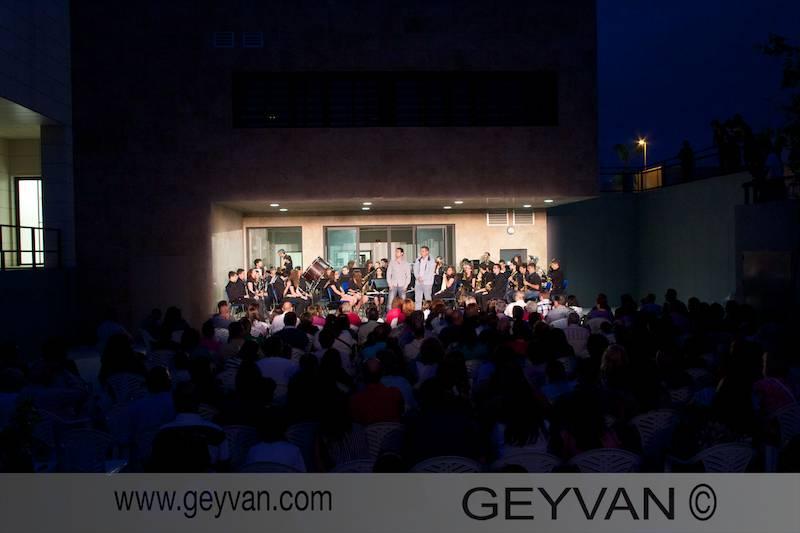Concierto de la orquesta y banda del Conservatorio Profesional de El Ejido