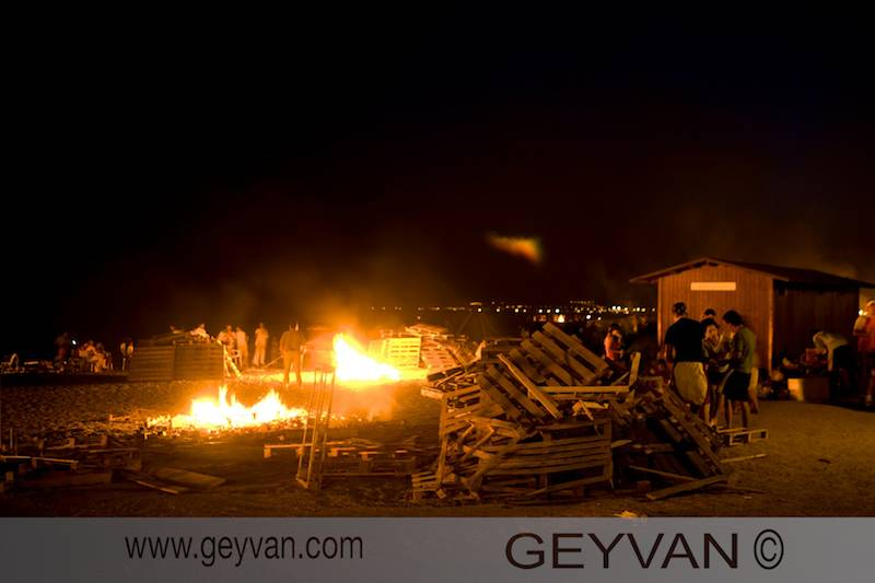 Noche de San Juan en Almerimar