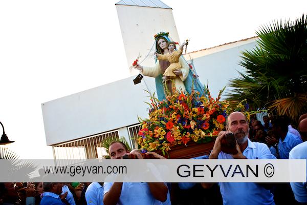 Virgen del Carmen en Almerimar