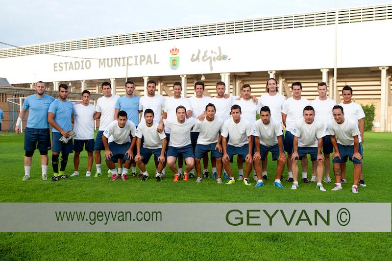 Primer entrenamiento del Club Deportivo El Ejido