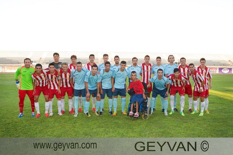 Pretemporada 2013/2014 Club Deportivo El Ejido – UD Almería 'B'
