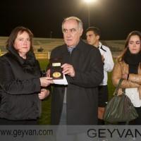 Geyvan - La mujer de Pepe Luque junto a Martín Doblado