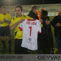 Geyvan - El hijo de Pepe Luque recibió camiseta firmada de la UD Almería
