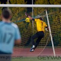 Geyvan - Esteban encajó el gol que adelantó a los ejidenses
