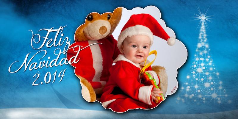 David nos felicita la Navidad